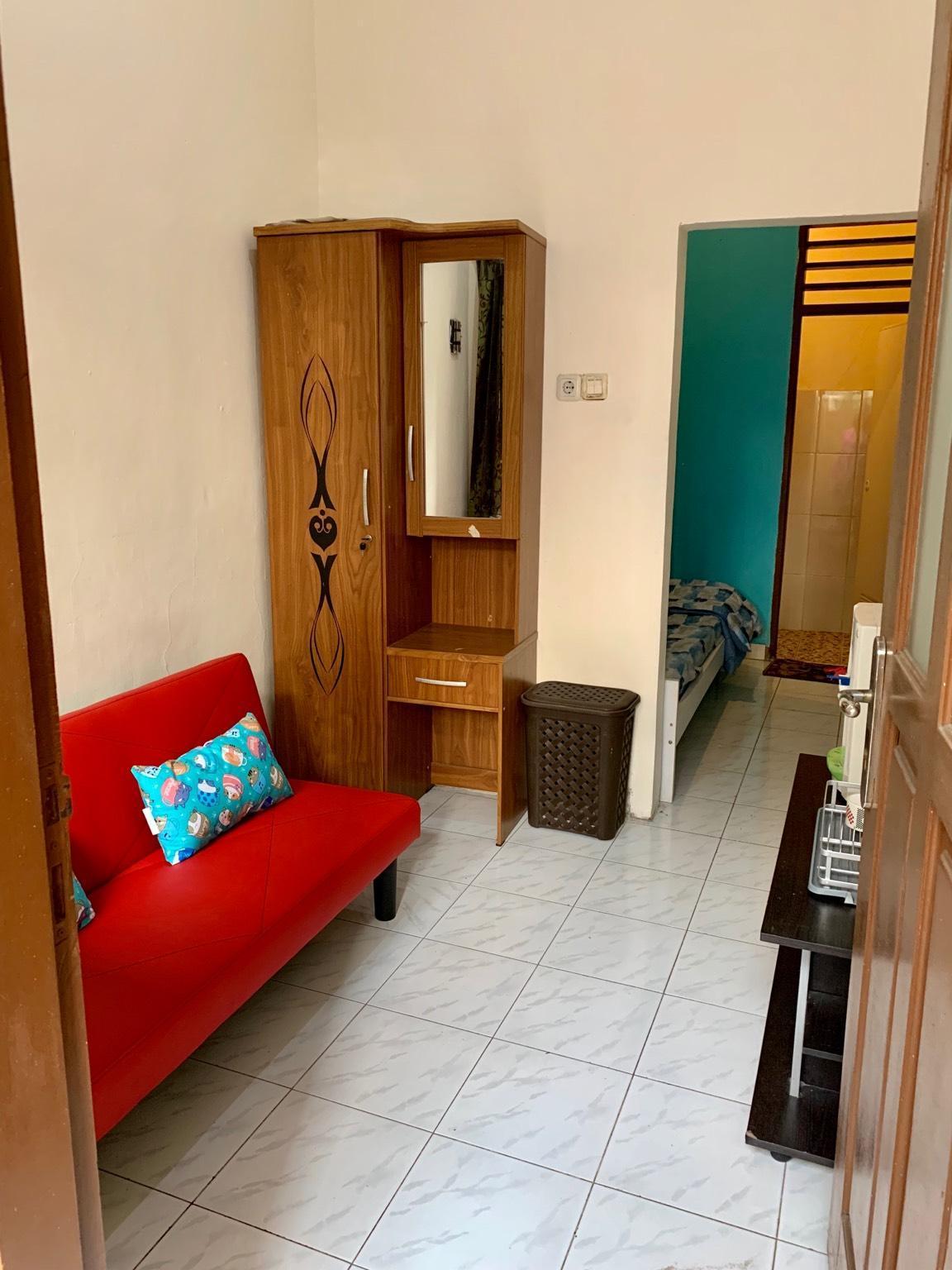 rumah 1 kamar tidur