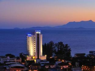 Naza Talyya Seaview Beach Hotel Penang - Aerial View