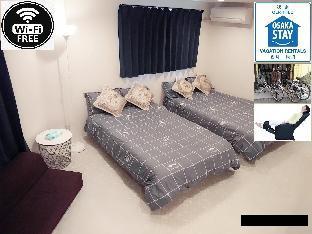 位于大阪市南部的1卧室公寓-35平方米|带1个独立浴室 image