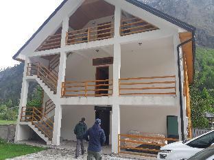 At Adenis house in Valbona