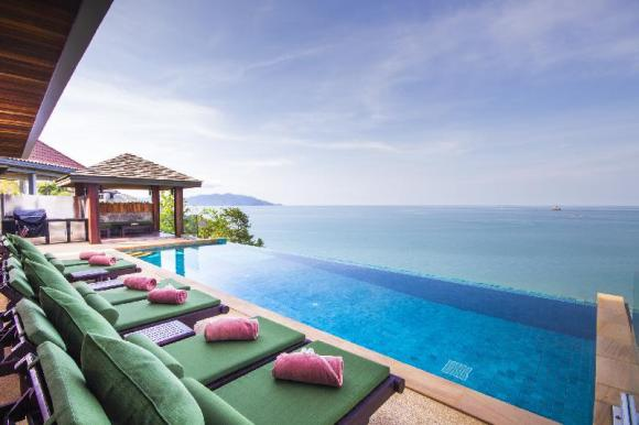 Baan Talay Sai Villa- Panoramic View 250m to Beach