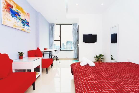 #2Creamy Central Rivergate Apartment near Dist1