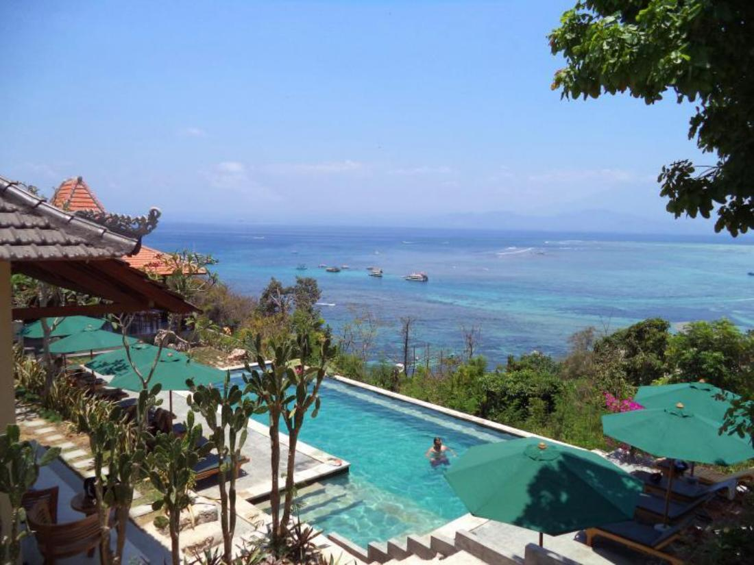Best price on lembongan cliff villas in bali reviews for Best hotel di bali