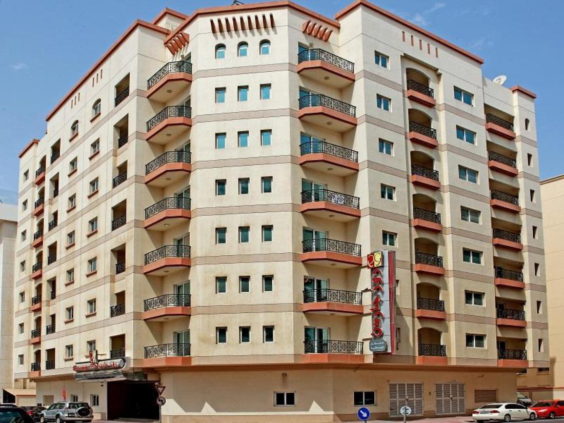 Best price on rose garden hotel apartments bur dubai in for Best value hotels in dubai