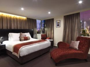 Hotel Grand Chancellor Melbourne מלבורן - חדר שינה