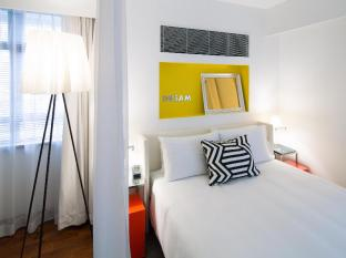 J Plus Hotel by YOO Hong Kong - Sunshine Yellow Studio Plus - Bedroom