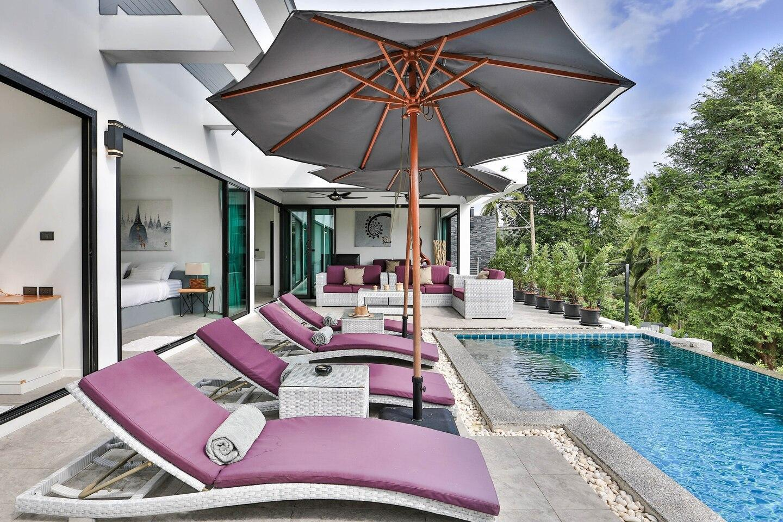 Villa Hayou 2 bedrooms 500m from the beach วิลลา 2 ห้องนอน 2 ห้องน้ำส่วนตัว ขนาด 250 ตร.ม. – หาดละไม