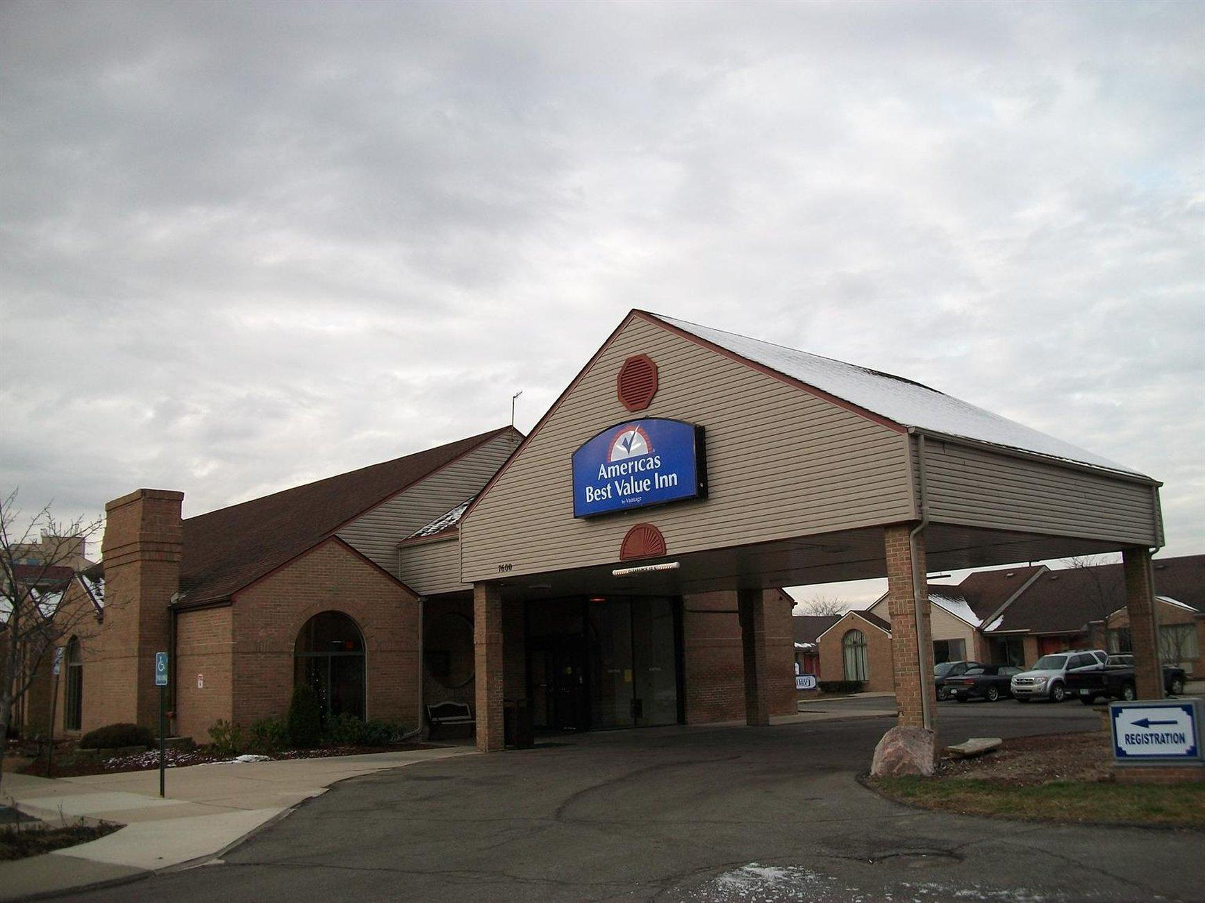 Americas Best Value Inn Romulus Detroit Airport