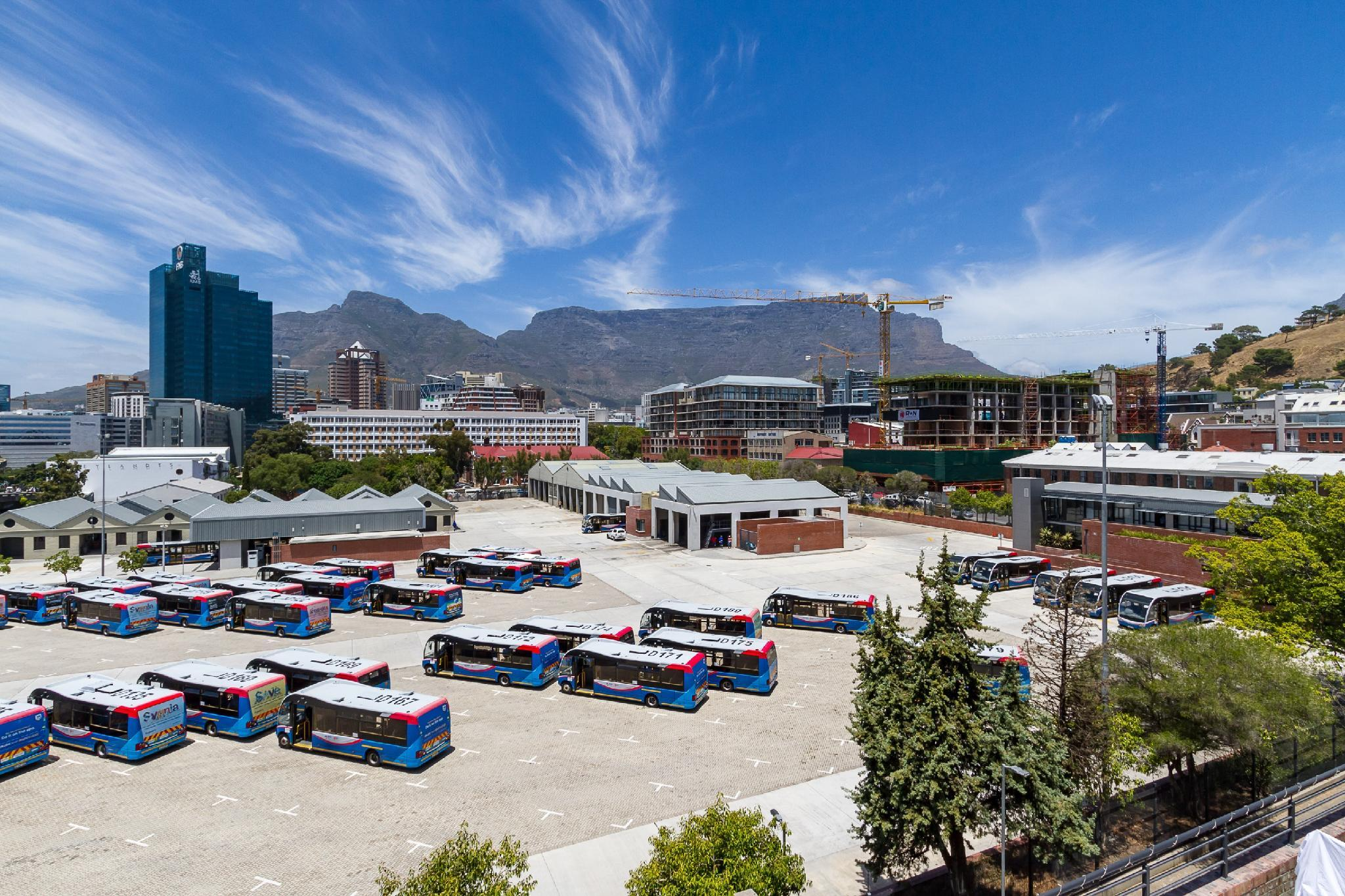 Unobstructed view of Table Mountain in trendy area