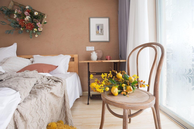 Xinjiekou Warm Art Family Room   2 Beds