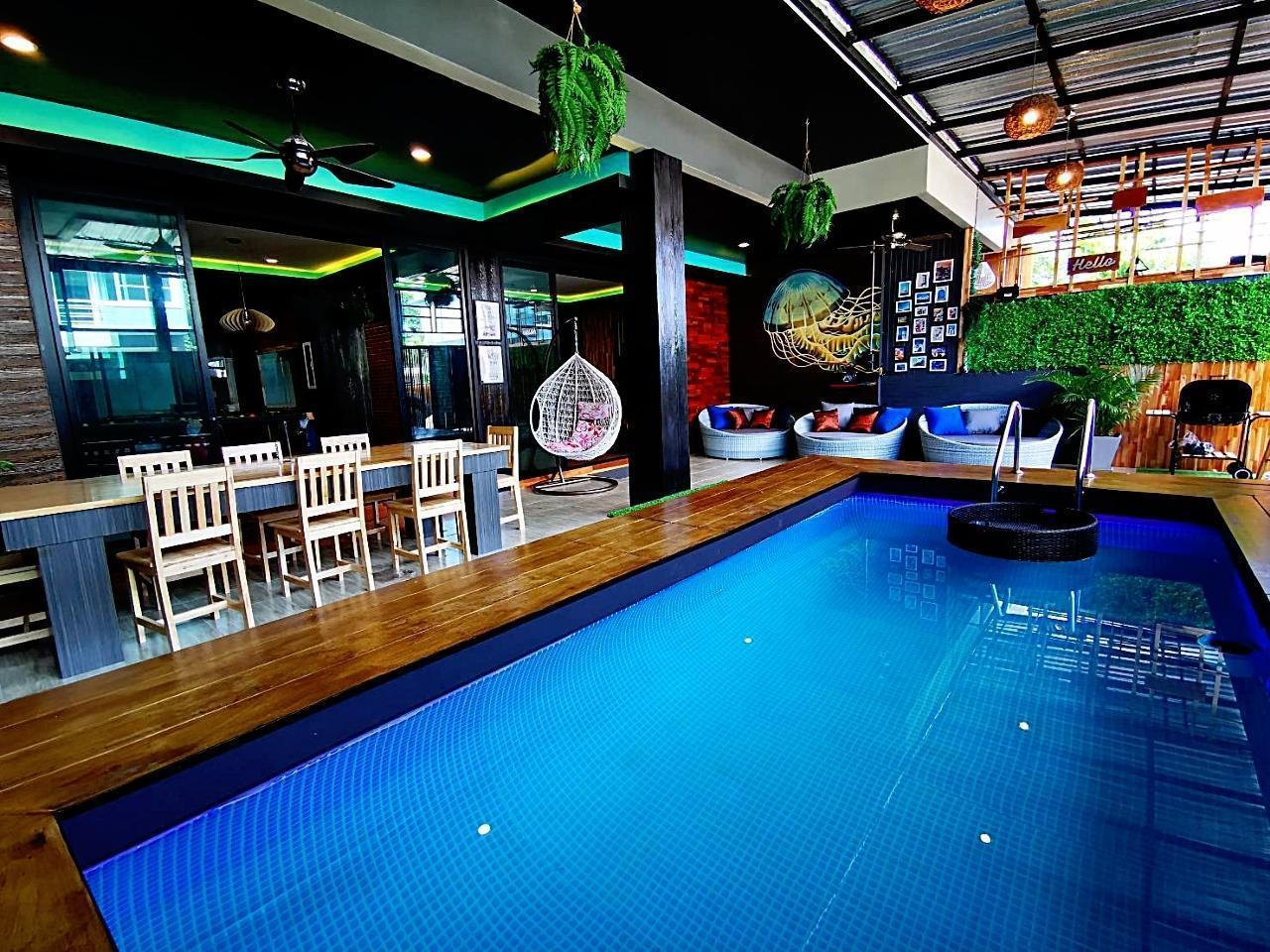 The narada 4 bedrooms private pool villa krabi วิลลา 4 ห้องนอน 5 ห้องน้ำส่วนตัว ขนาด 300 ตร.ม. – กระบี่ น้อย