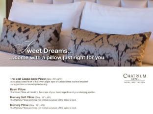Chatrium Hotel Royal Lake Yangon Yangon - Pillow menu