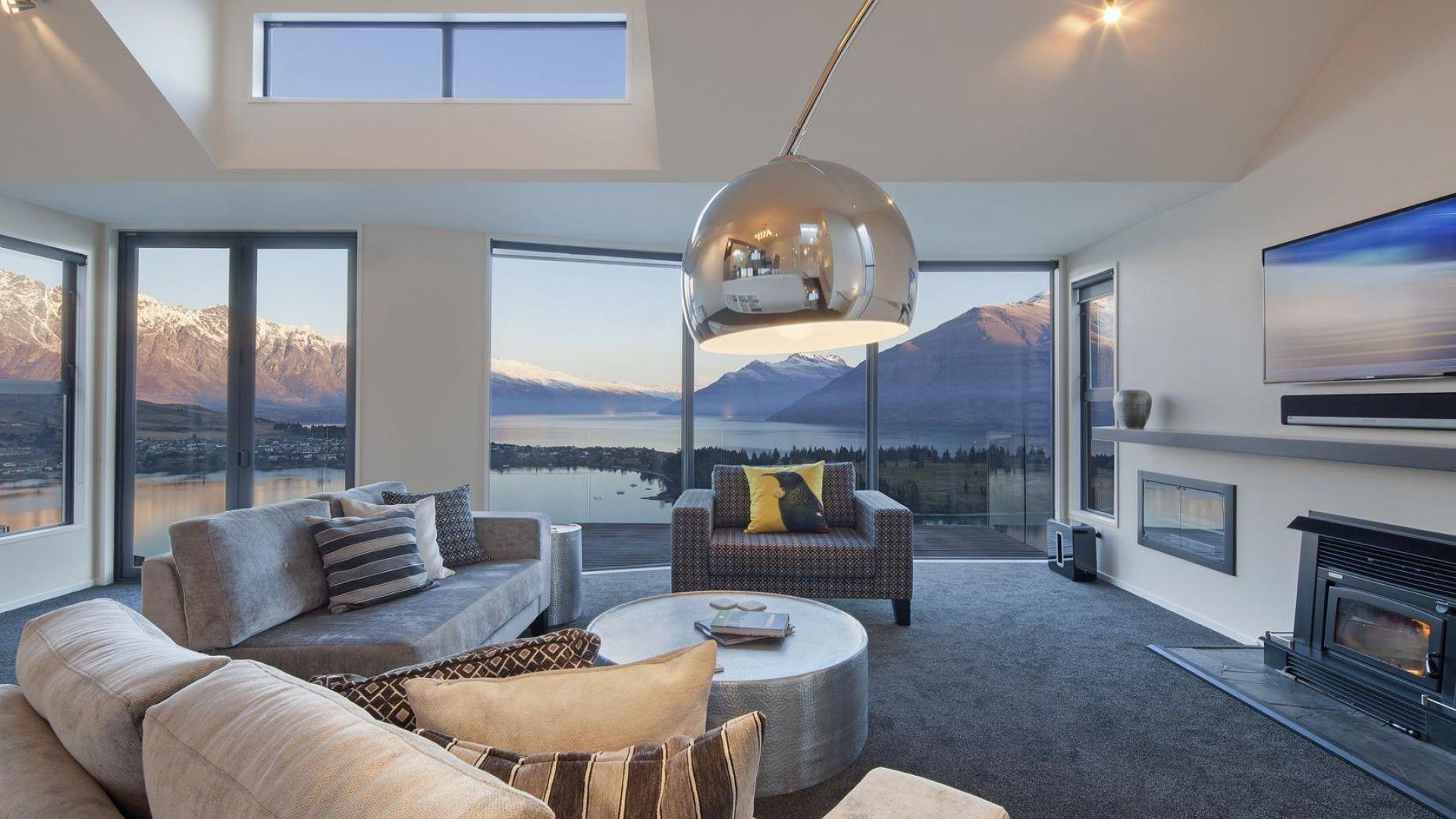 Queenstown Villa 2   Exclusive Residence With Majestic Mountain & Lake Views