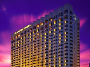 Diamond Hotel Manila - Hotel Facade at Dusk