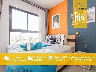 [トンブリー]アパートメント(30m2)| 1ベッドルーム/1バスルーム [hiii]CandiedMandarine*LuxuryPool & Gym-BKK220