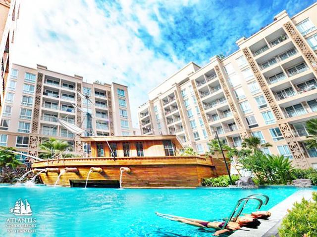 แอตแลนติส คอนโดแอนด์วอเตอร์ พาร์ค พัทยา บาย เดอะ ซี – Atlantis Condo & Water Park Pattaya by The Sea