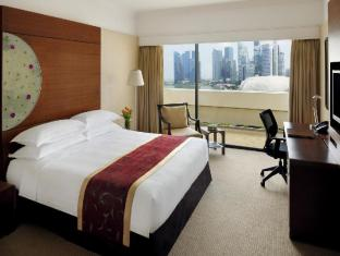 Marina Mandarin Singapore Hotel סינגפור - חדר שינה