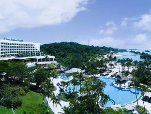 Shangri-La's Rasa Sentosa Resort & Spa Singapore - Arial View