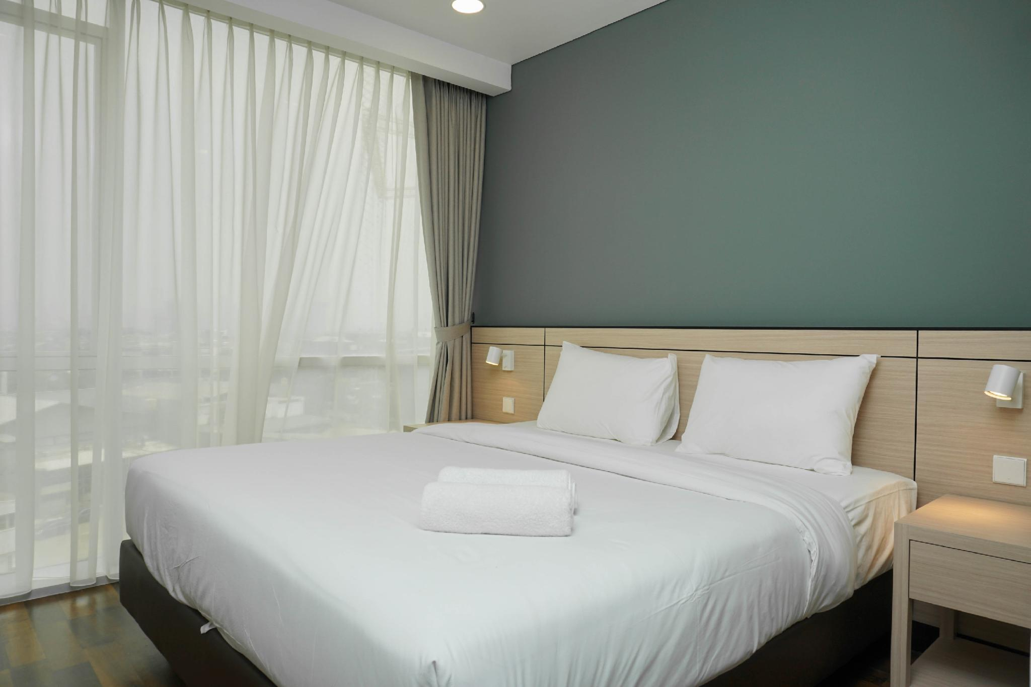 1BR Apartment @ Gallery West Residence By Travelio