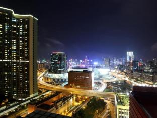 Bridal Tea House Hung Hom Winslow Hotel Hong Kong - Night View