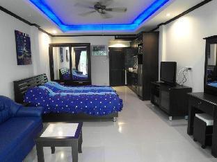 Modern spacious studio apartment Baan Suan Lalana อพาร์ตเมนต์ 1 ห้องนอน 1 ห้องน้ำส่วนตัว ขนาด 42 ตร.ม. – หาดจอมเทียน