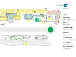 Seaview Patong Hotel Phuket - Hotel plan