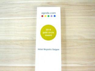 Hotel Majestic Saigon Ho Chi Minh City - Agoda Gold Circle Award 2014