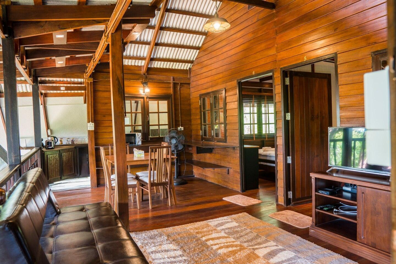 The Quiet Cabin บ้านเดี่ยว 2 ห้องนอน 2 ห้องน้ำส่วนตัว ขนาด 85 ตร.ม. – อ่าวนาง