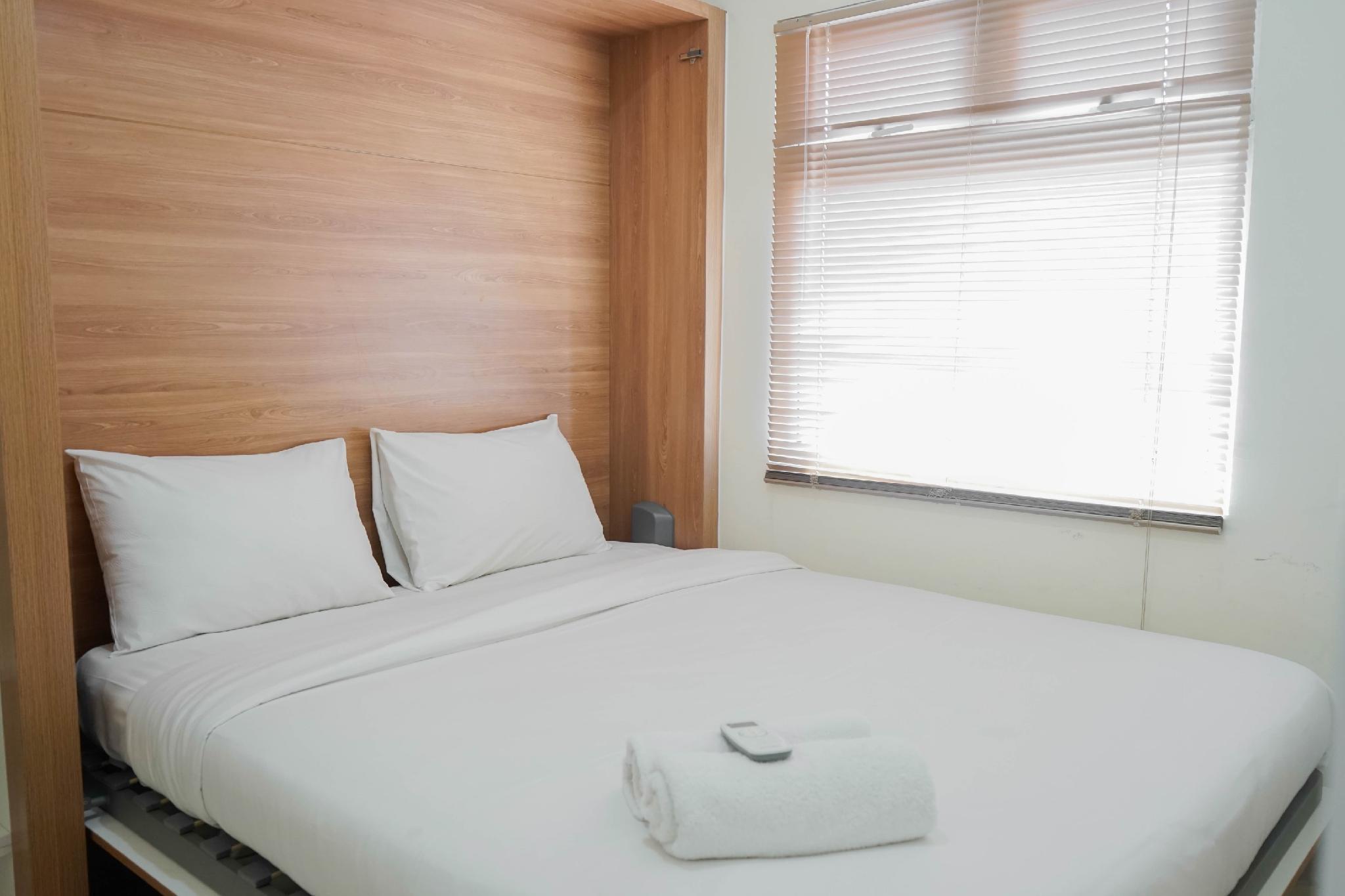 Modern 2BR At Green Pramuka Apartment By Travelio