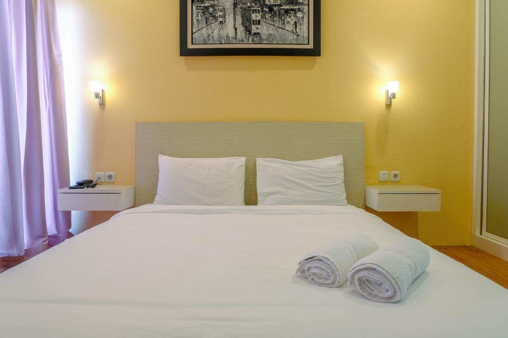 1BR Apartment At Tamansari Semanggi By Travelio
