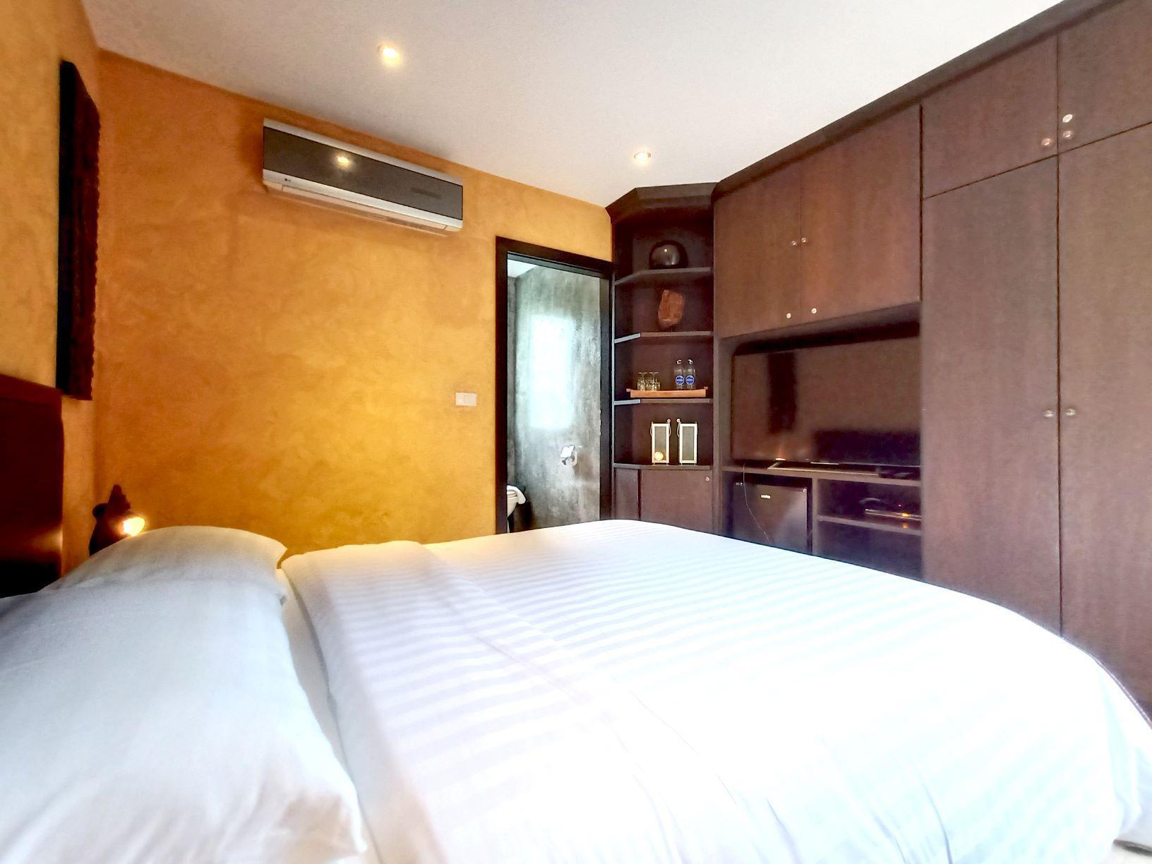 Red Sunset Villa Suite  With Pool  Hotel Managed วิลลา 1 ห้องนอน 1 ห้องน้ำส่วนตัว ขนาด 80 ตร.ม. – คลองสน