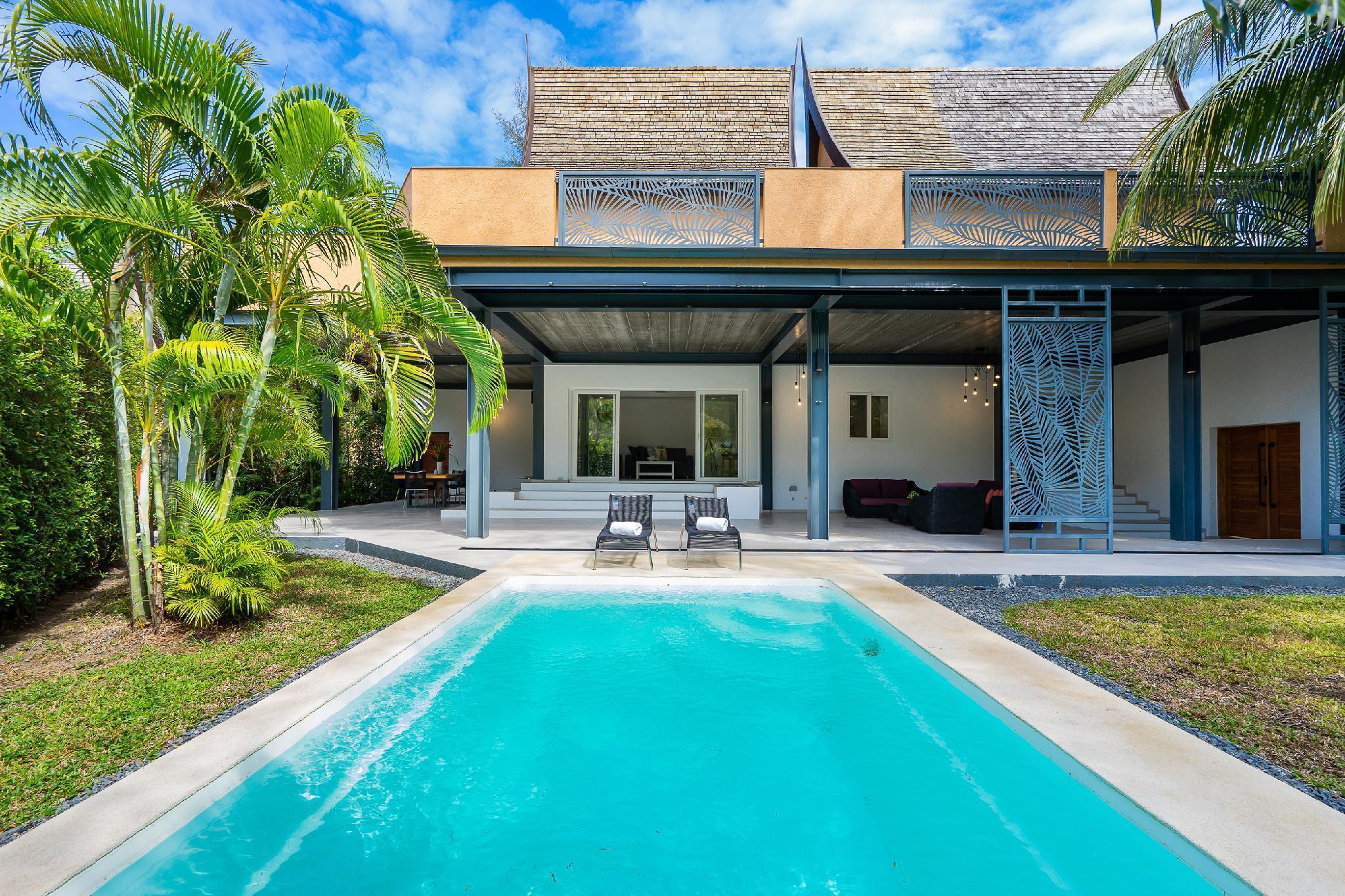 Villa Sunova Private Pool Hotel Managed วิลลา 3 ห้องนอน 3 ห้องน้ำส่วนตัว ขนาด 150 ตร.ม. – คลองสน