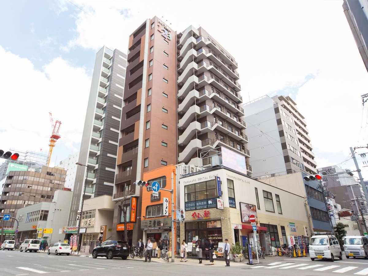 HOTEL1 2 3 Osaka Sakaisujihommachi