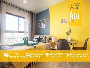 [トンブリー]アパートメント(30m2)| 1ベッドルーム/1バスルーム [hiii]Half Moonlight*LuxuryPool & Gym-BKK217