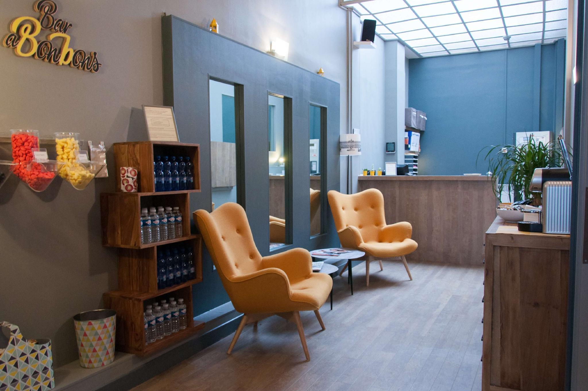 Hotel Coeur De City Nancy Stanislas By HappyCulture