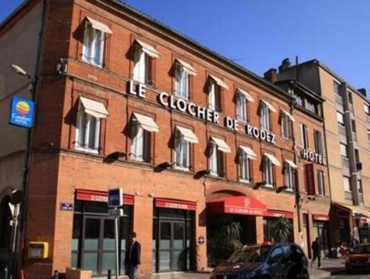 Le Clocher de Rodez Centre Gare