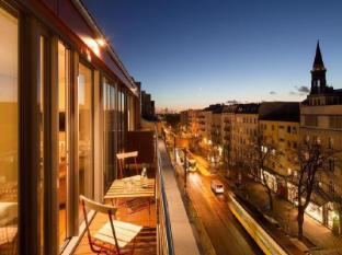 Hotel Pension Kastanienhof Berlin - Balkon/Taras