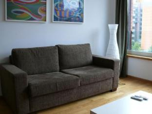 Pfefferbett Apartments Potsdamer Platz برلين - غرفة الضيوف