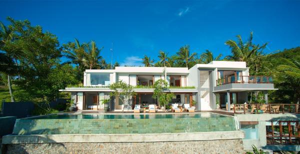Malimbu Cliff Villa Lombok Lombok