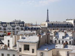 Etoile St Honore Champs Elysees Hotel Paris - View from Superior Room