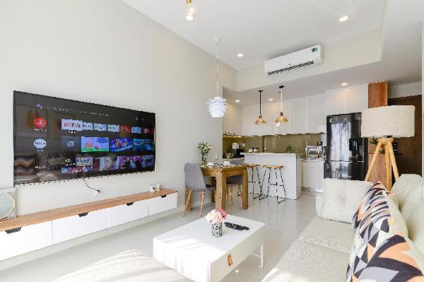Modern 2 Brs Apartment 40th Floor Masteri An Phu Ho Chi Minh City