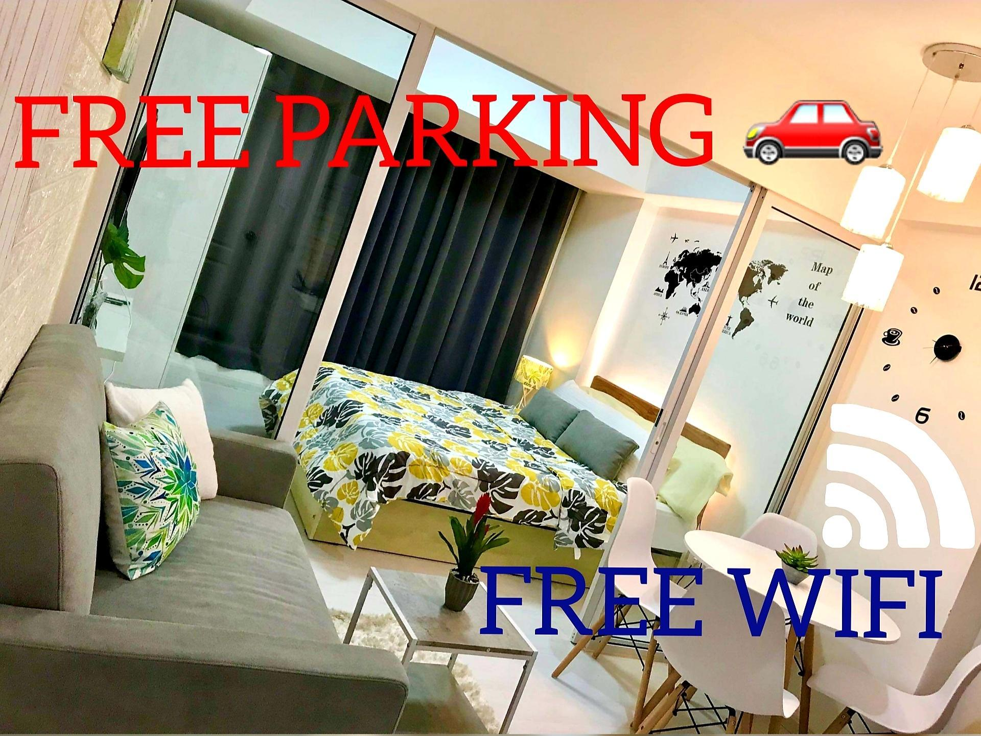 1BR FREE PARKING AFFORDABLE STAYCATION IN AZURE
