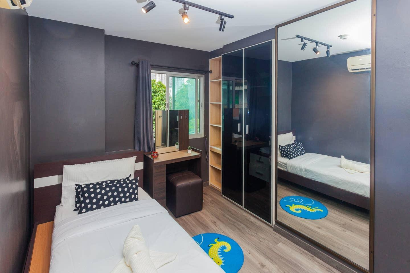 Hidden Gem Modern 2 PrivateBedroom Near Bts On Nut