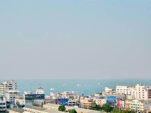 [マブプラチャンレザボアー]一軒家(30m2)  1ベッドルーム/1バスルーム 819 Pattaya Bay Seaview Condo Near Walking Street
