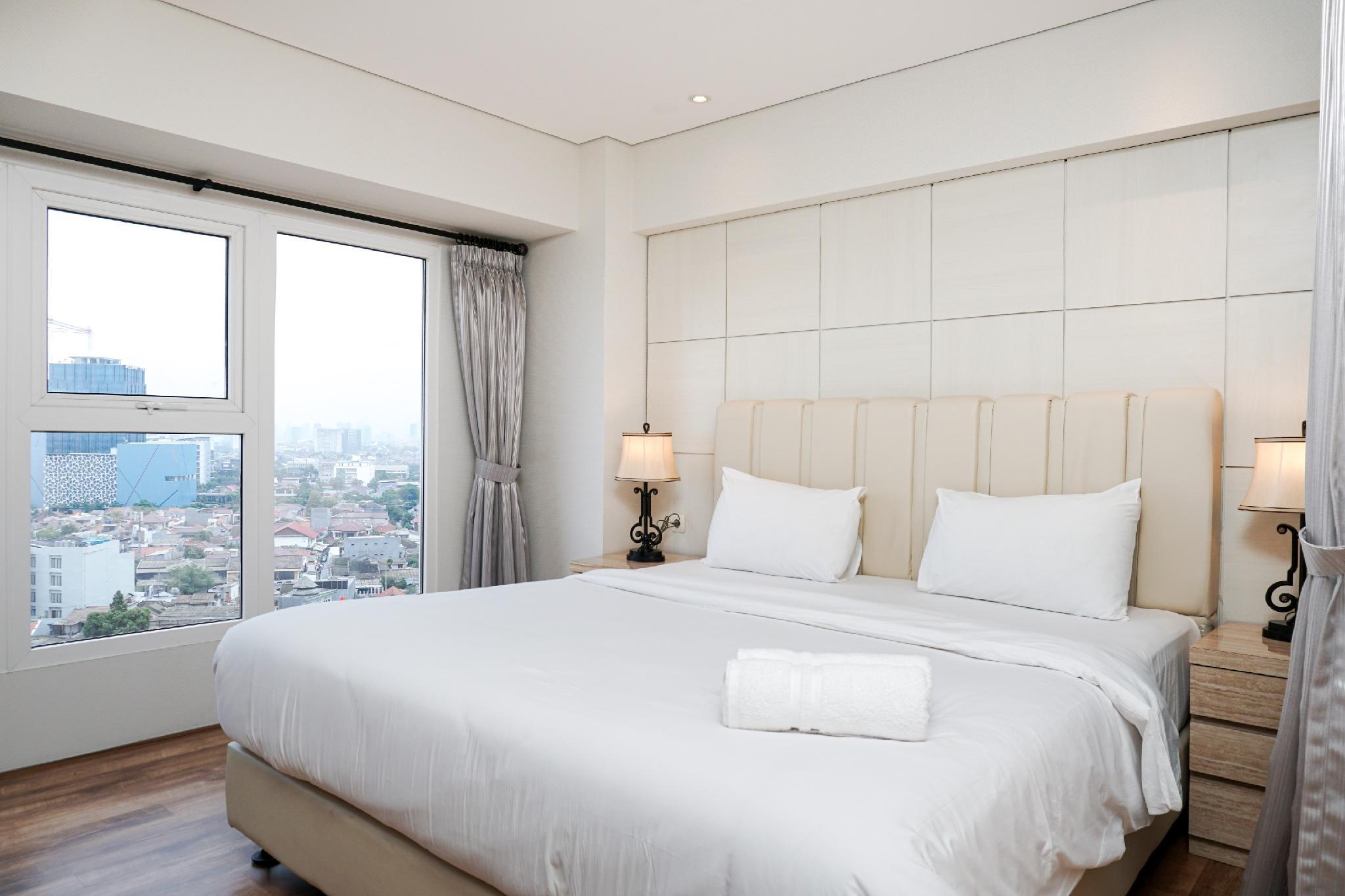 Stunning 2BR Loft At Maqna Residence By Travelio