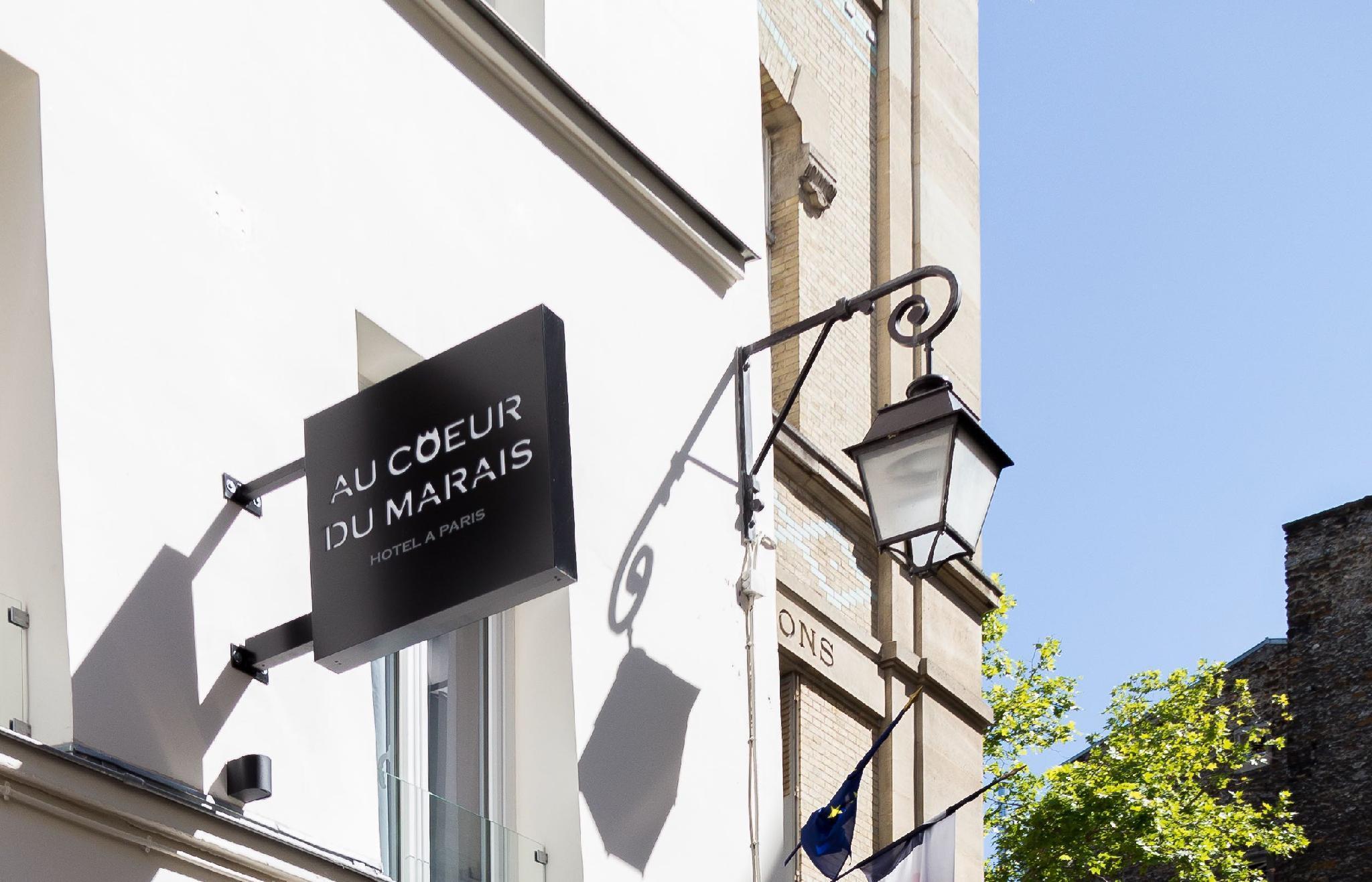 Hotel Au Coeur Du Marais