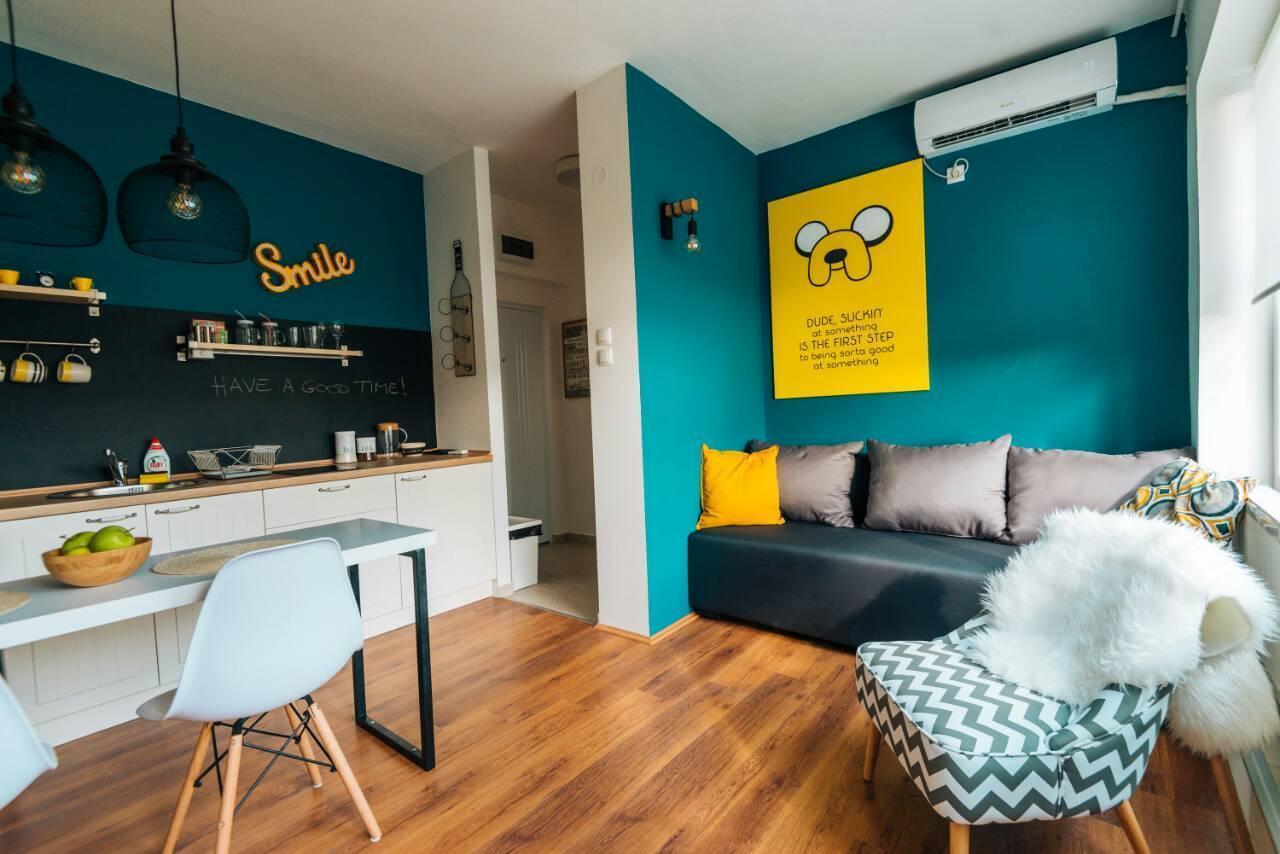 Smile Studio In Center + Free Parking + Breakfast