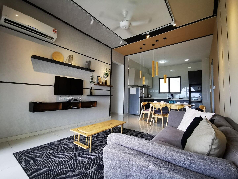 JK Home  New  Danga Bay Seaview 3BR Cozy WiFi
