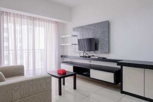 Modern and Spacious 2BR M-Town Apt By Travelio Tangerang