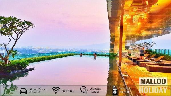 Balcony Airport Transfer Washer -  Netflix- Pool Chiang Mai